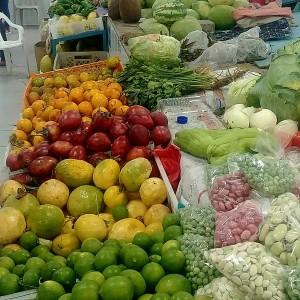 Un Marché Local En Equateur