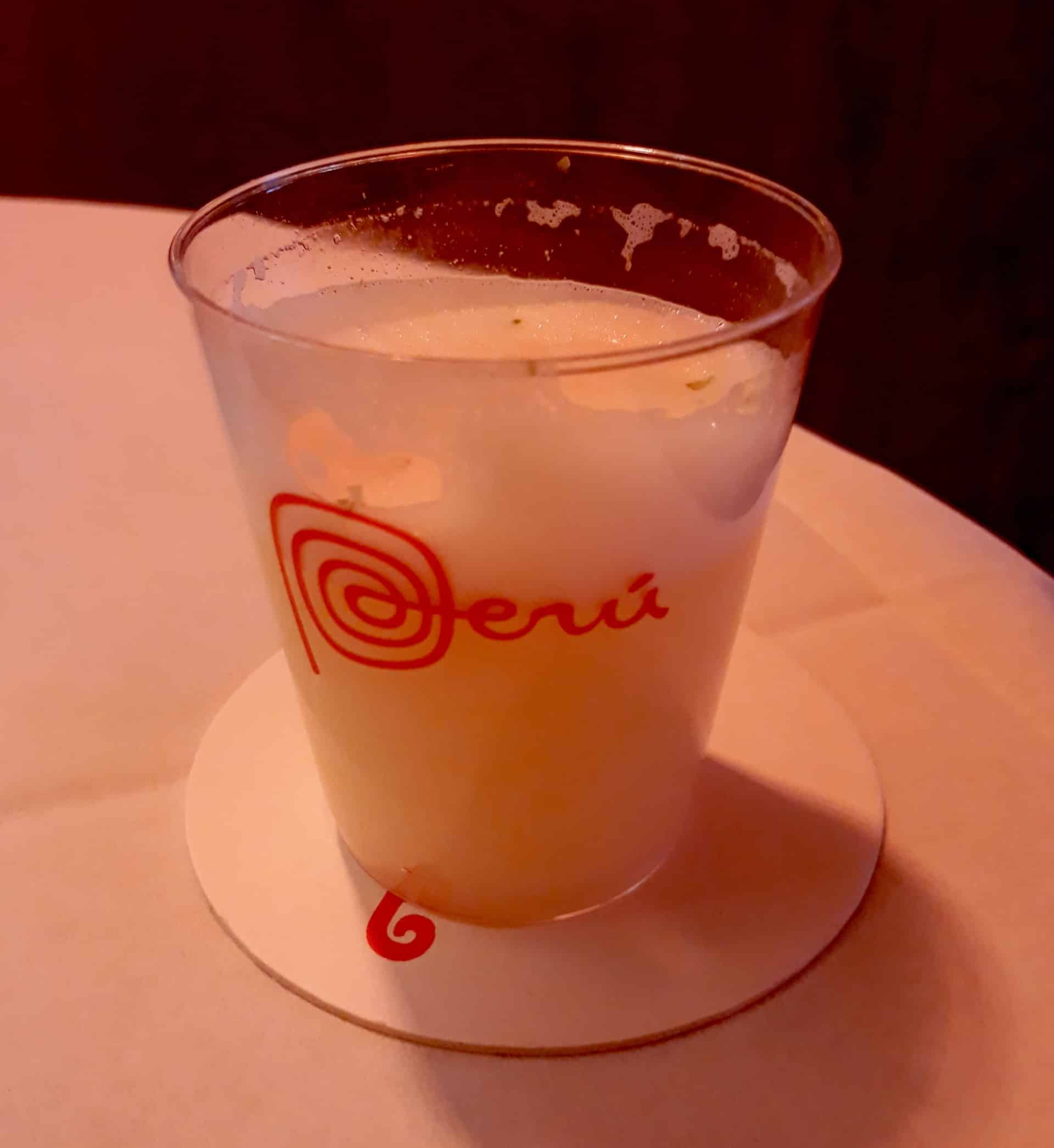 Pisco Sour Perou A La Carte
