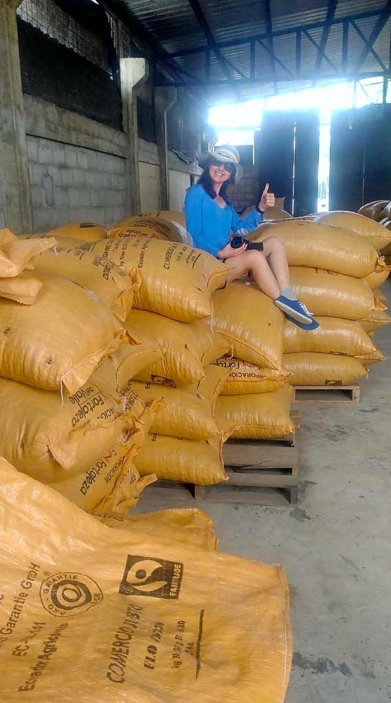 fèves de cacao équateur