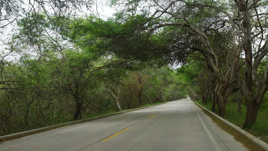 Route province Manabi voyage en  équateur