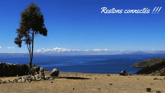 Restons Connectés Lac Titicaca