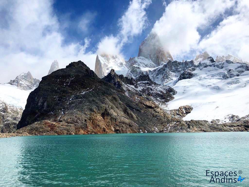 Le Fitz roy en Patagonie argentine pour espaces andins