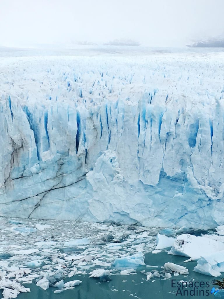 le glacier perito moreno en patagonie argentine. Photo de nos clientes pour Espaces andins