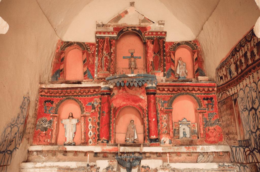 chapelle Tomarapi Bolivie