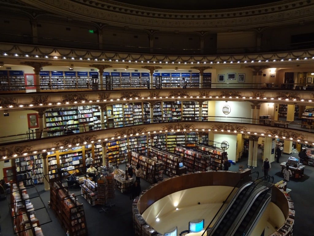 librairie Ateneo Grand splendide de Buenos Aires