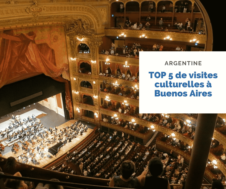 Top 5 Visites Cultures Buenos Aires