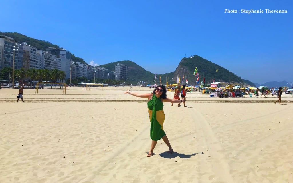 Plage de Copacabana, Rio, Brésil